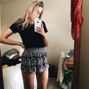 """Urban Outfitters """"out from under"""" soft boho shorts"""